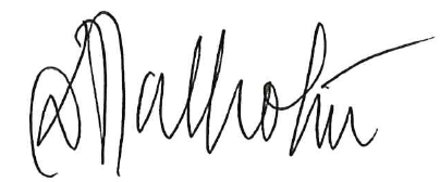 Chancellor Malhotra signature